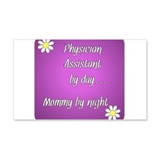 Physician Assistant by day Mommy by night Wall Decal