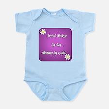 Postal Worker by day Mommy by night Infant Bodysui