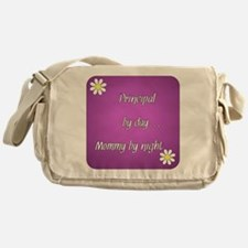 Principal by day Mommy by night Messenger Bag