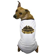 Steamboat 50th Anniversary Dog T-Shirt