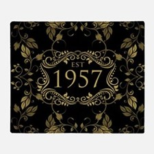 Established 1957 Throw Blanket