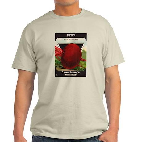 Antique Seed Packet Art Ash Grey T-Shirt