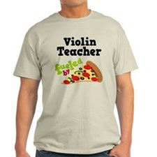 Violin Teacher Funny Pizza T-Shirt