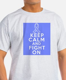 Intestinal Cancer Keep Calm Fight On T-Shirt