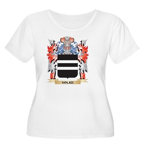 Volke Coat of Arms - Family Cres Plus Size T-Shirt