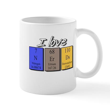 I Love Nerds Mug