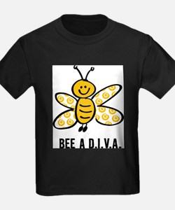 Yellow Bee A D.I.V.A. T-Shirt