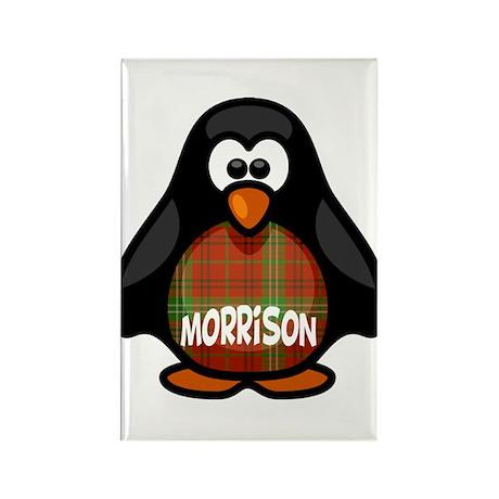 Morrison Tartan Penguin Rectangle Magnet