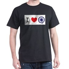 I love India - Ashok Chakra T-Shirt