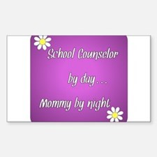 School Counselor by day Mommy by night Decal