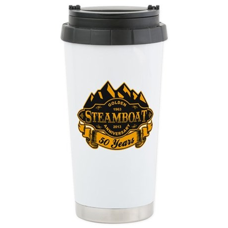 Steamboat 50th Anniversary Stainless Steel Travel