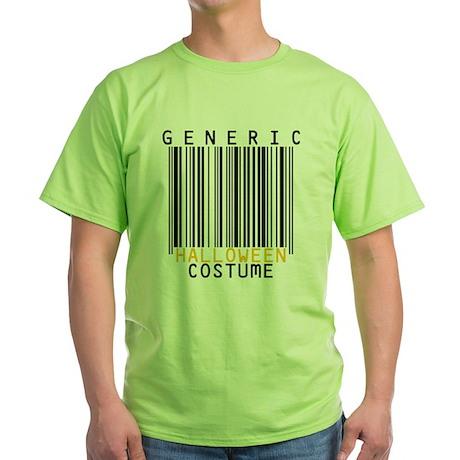 Generic Halloween Barcode Grey T-Shirt T-Shirt