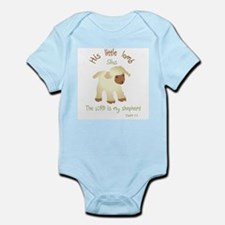 His little lamb Name Silas Body Suit