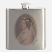 Queen Victoria Flask