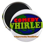 """Comedy Whirled Ware 2.25"""" Magnet (10 pack)"""