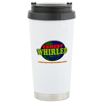 Comedy Whirled Ware Stainless Steel Travel Mug