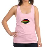 Comedy Whirled Ware Racerback Tank Top