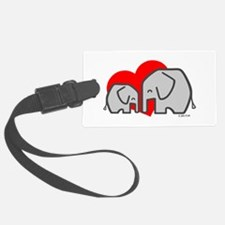 Elephants (3) Luggage Tag