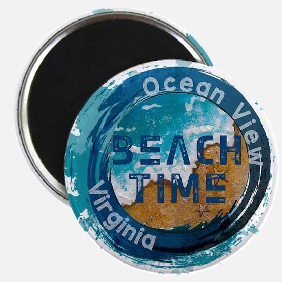 Virginia - Ocean View Magnets