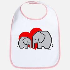 Elephants (3) Bib
