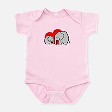 Elephants (3) Infant Bodysuit