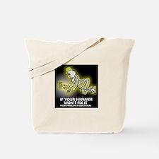Hammer Mechanic Tote Bag