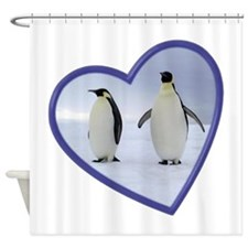 Emperor Penguins Shower Curtain