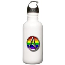 LGBT Atheist Symbol Sports Water Bottle