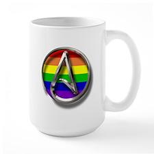 LGBT Atheist Symbol Mug