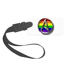 LGBT Atheist Symbol Luggage Tag