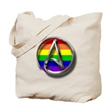 LGBT Atheist Symbol Tote Bag