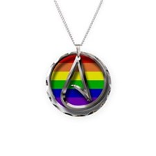 LGBT Atheist Symbol Necklace