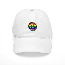 LGBT Atheist Symbol Baseball Cap