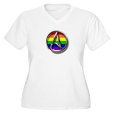 LGBT Atheist Symbol T-Shirt