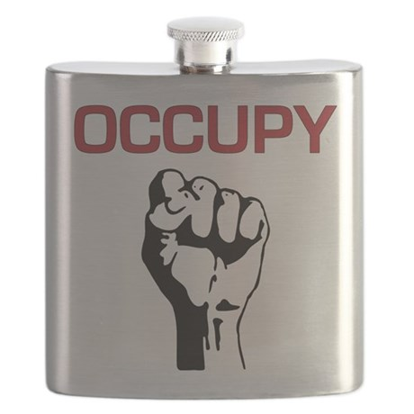 Occupy with Fist Flask