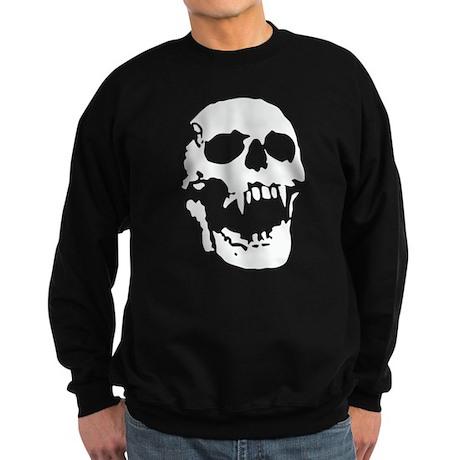 screaming vampire skull dead bones Sweatshirt (dar