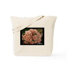 Peach Carnations Tote Bag