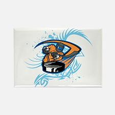 Ice Hockey. Rectangle Magnet (100 pack)
