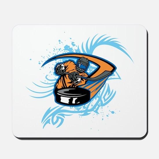 Ice Hockey. Mousepad
