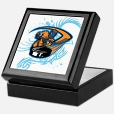 Ice Hockey. Keepsake Box