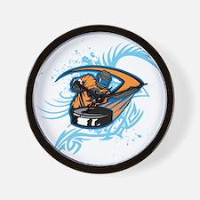 Ice Hockey. Wall Clock