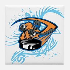 Ice Hockey. Tile Coaster