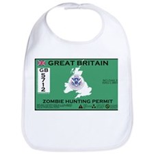 Great Britain/UK Zombit Hunting Permit Bib