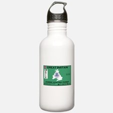 Great Britain/UK Zombit Hunting Permit Water Bottle
