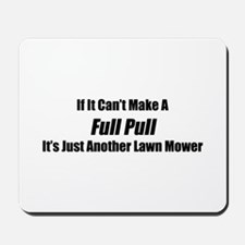 If It Can't Make A Full Pull It's Just Another Law