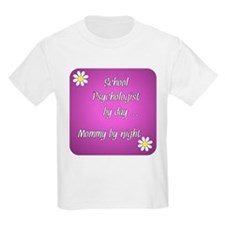 School Psychologist by day Mommy by night T-Shirt