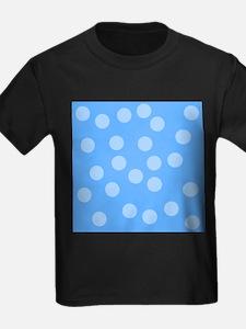 Blue Dots Pattern. T