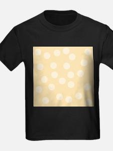 Beige Spots Pattern. T
