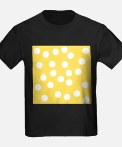 Dots Pattern in Yellow. T