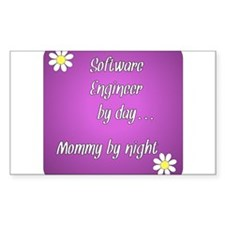 Software Engineer by day Mommy by night Decal